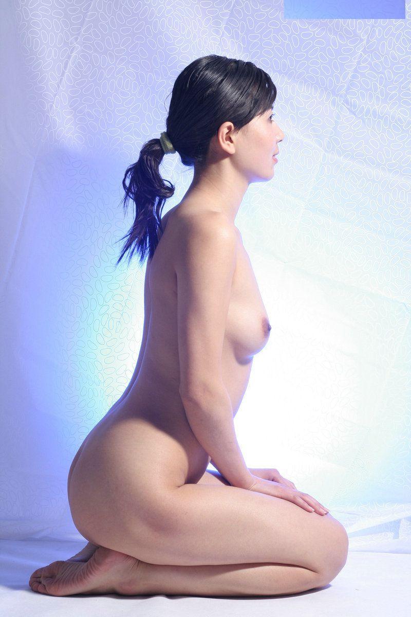 三次元 3次元 エロ画像 ヌード 正座 裸 べっぴん娘通信 07