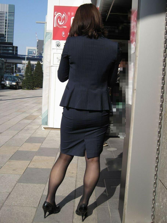 三次元 3次元 エロ画像 OL 黒パンスト ストッキング べっぴん娘通信 24