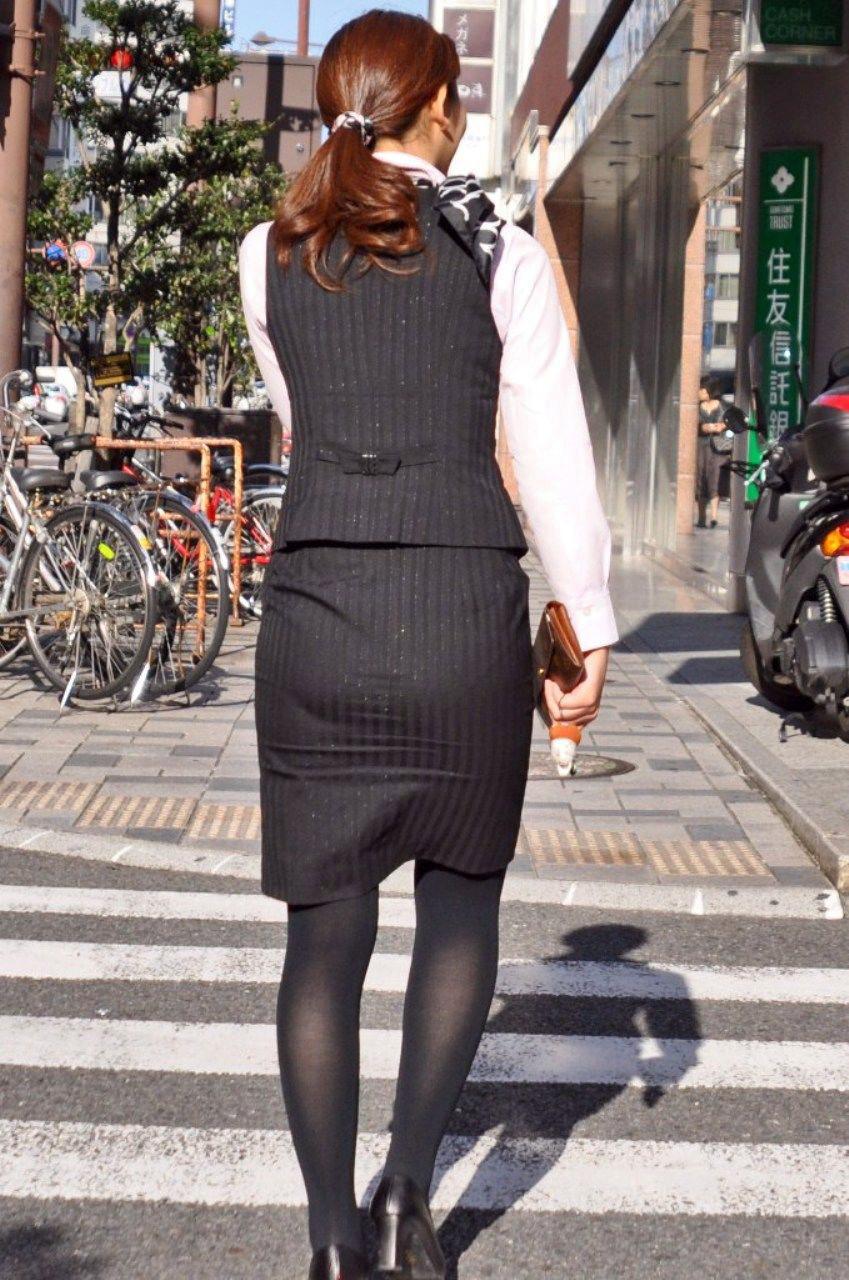 三次元 3次元 エロ画像 OL 黒パンスト ストッキング べっぴん娘通信 40