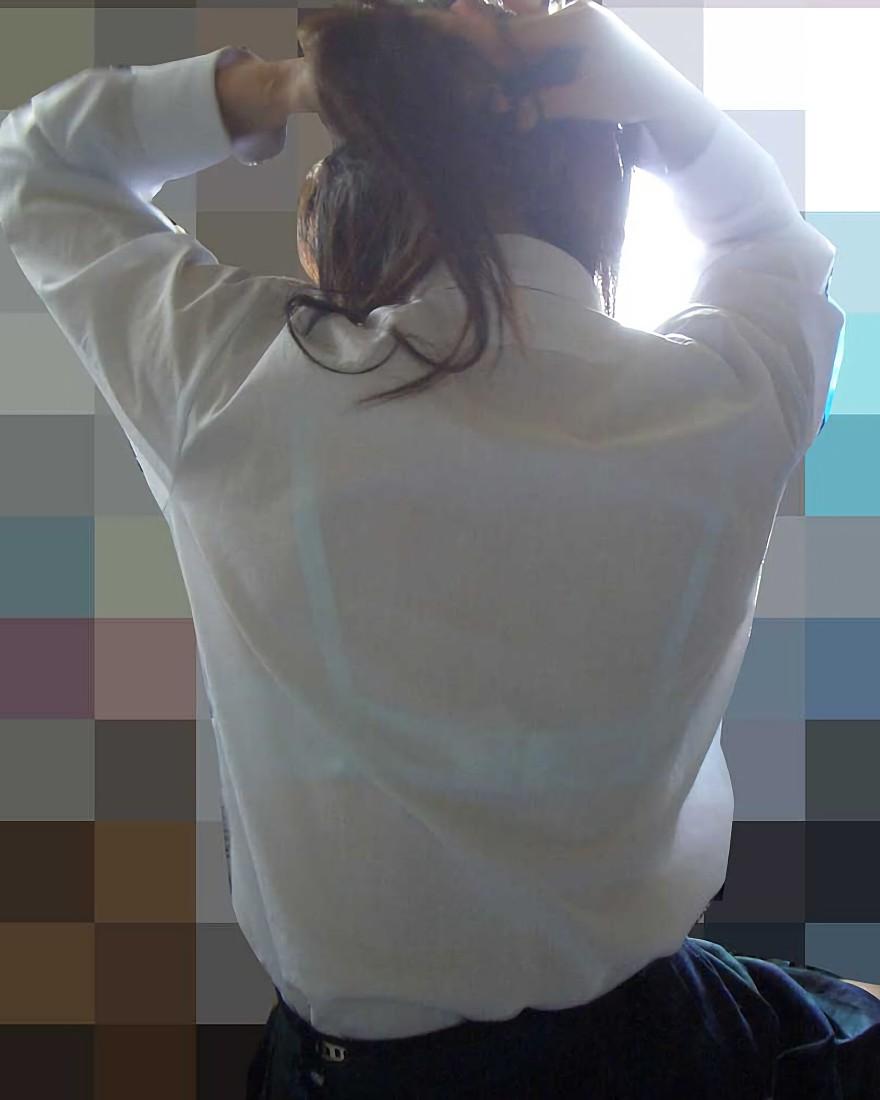 三次元 3次元 エロ画像 透けブラ 素人 街撮り 下着  ランジェリー べっぴん娘通信 29