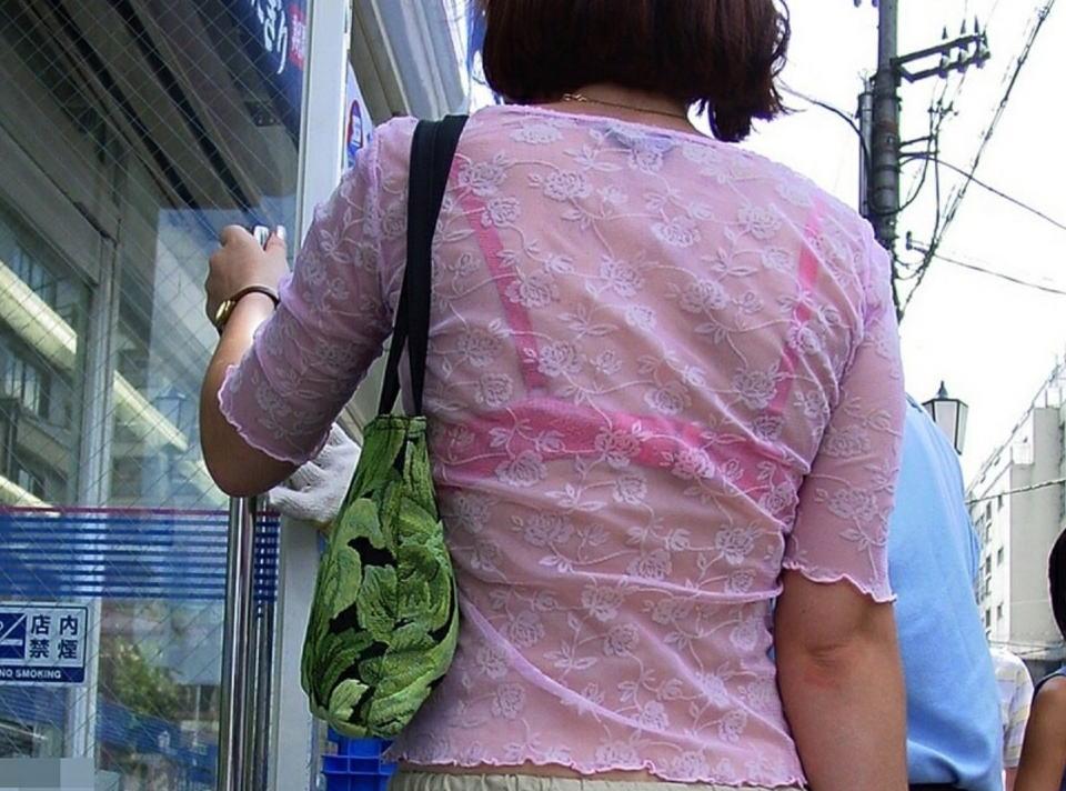 三次元 3次元 エロ画像 透けブラ 素人 街撮り 下着  ランジェリー べっぴん娘通信 38