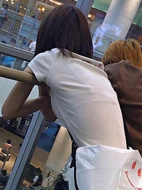三次元 3次元 エロ画像 透けブラ 素人 街撮り 下着  ランジェリー べっぴん娘通信 39