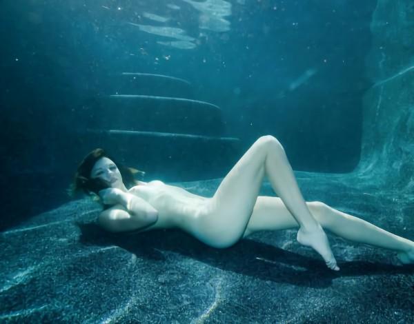 三次元 3次元 エロ画像 水中 ヌード べっぴん娘通信 06