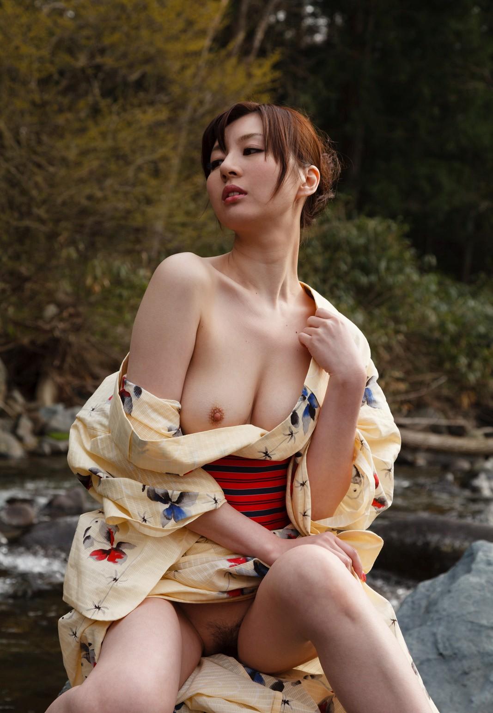 三次元 3次元 エロ画像 和服 着物 浴衣 ヌード べっぴん娘通信 10