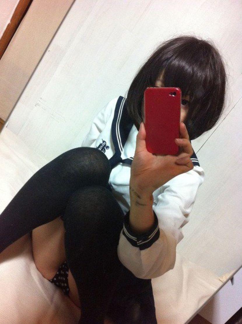 三次元 3次元 エロ画像 女子校生 JK 黒髪 べっぴん娘通信 023