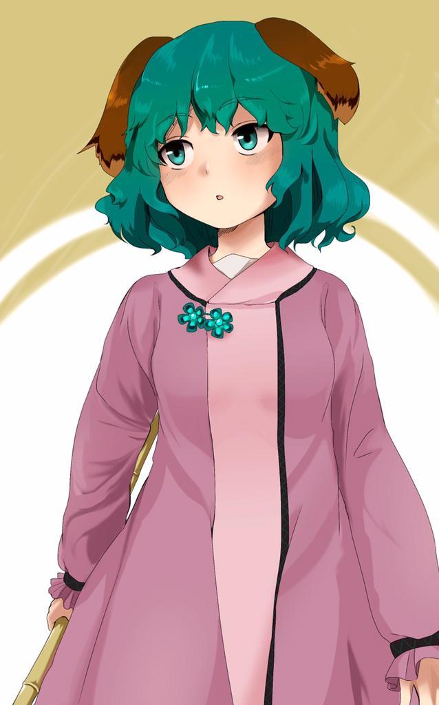 二次元 2次元 エロ画像 緑髪 べっぴん娘通信 034