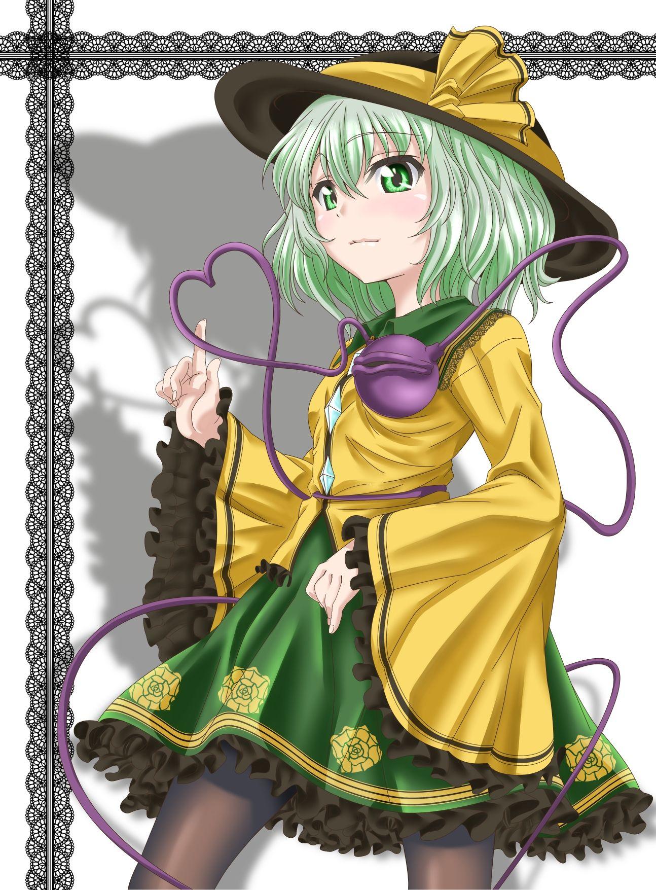 二次元 2次元 エロ画像 緑髪 べっぴん娘通信 035