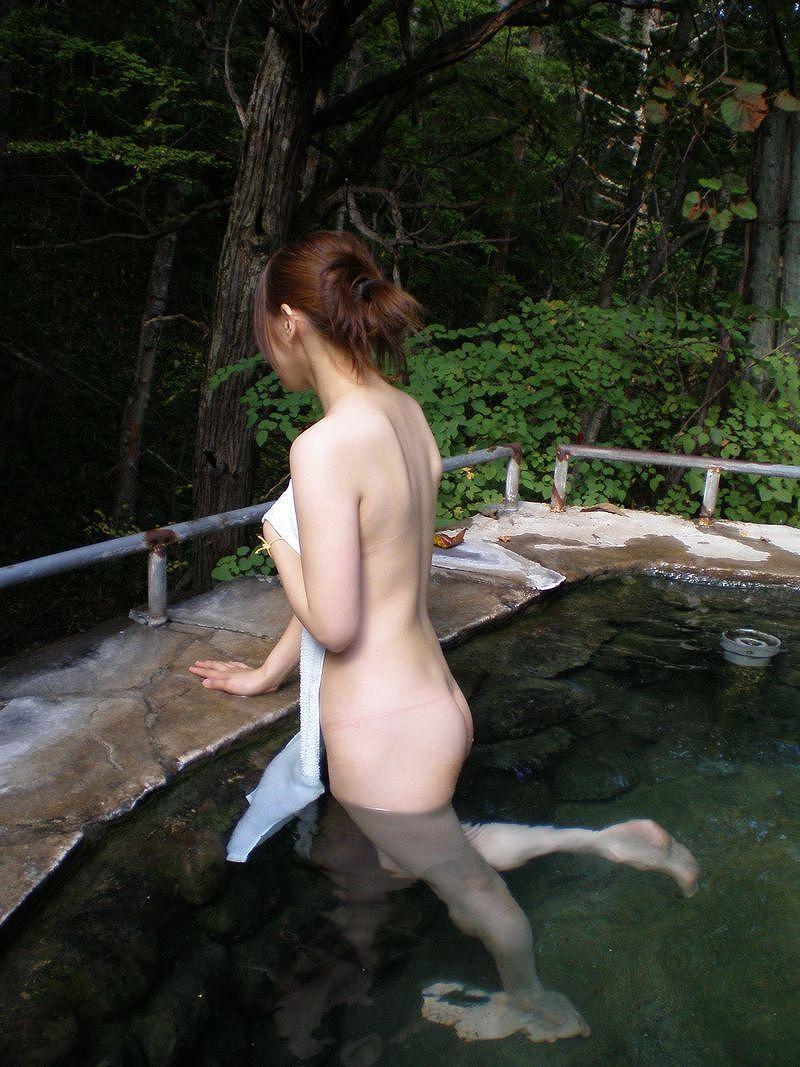 三次元 3次元 エロ画像 温泉 美尻 ヌード べっぴん娘通信 12