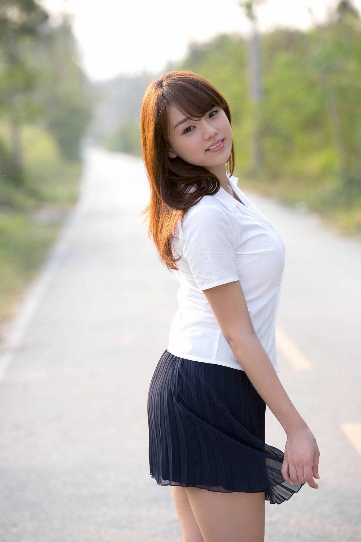 三次元 3次元 エロ画像 ミニスカート 美脚 べっぴん娘通信 03