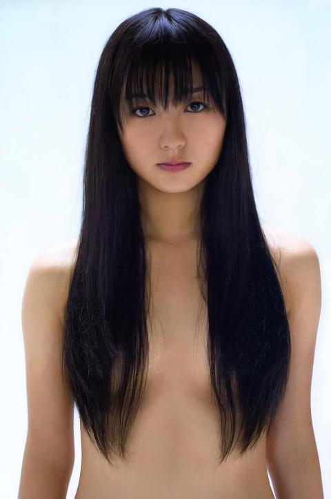 三次元 3次元 エロ画像 ヌード 髪で乳首を隠す おっぱい べっぴん娘通信 39