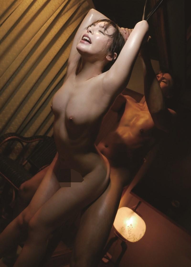 三次元 3次元 エロ画像 AV女優  小倉由菜 ヌード  べっぴん娘通信 077