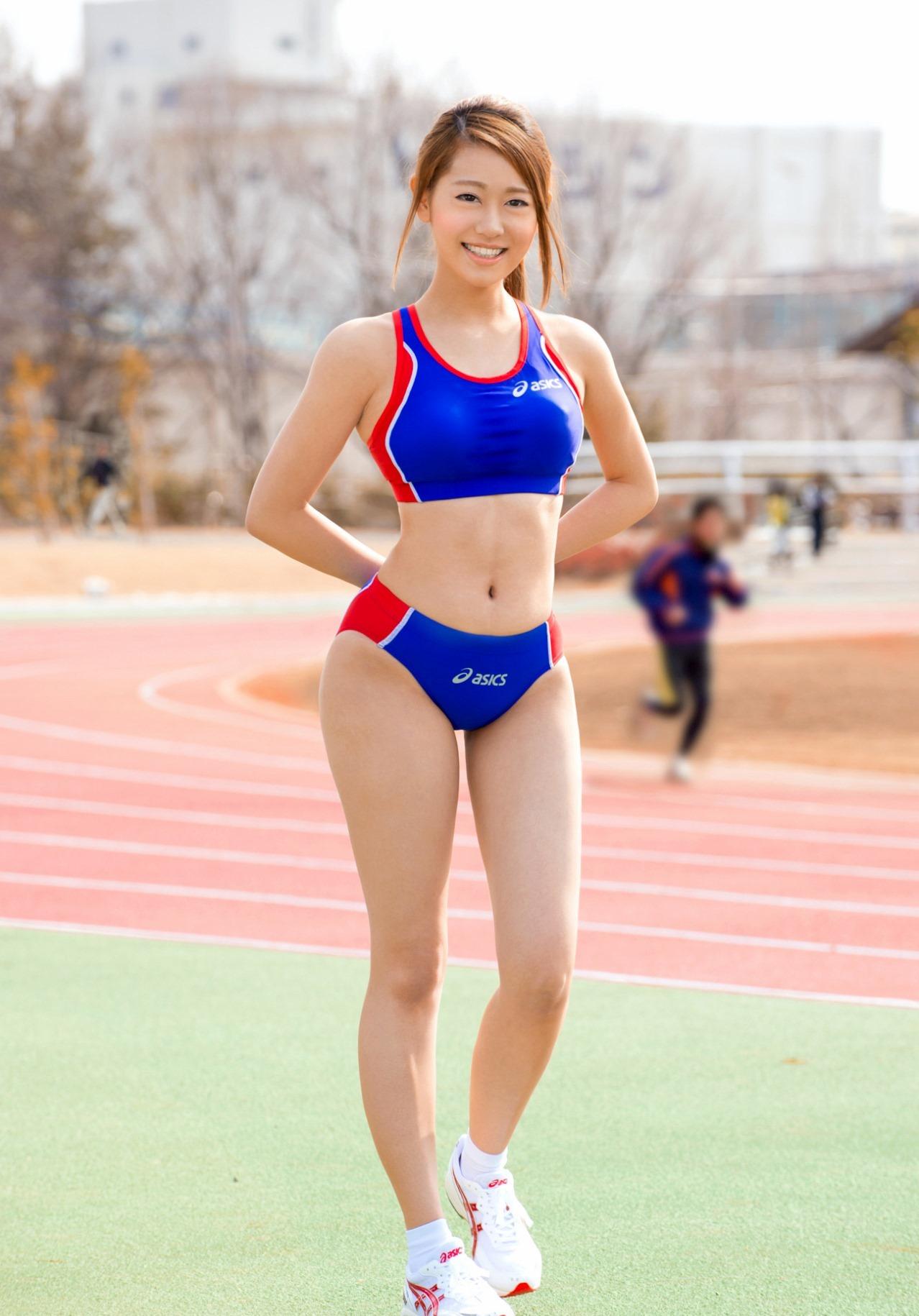 三次元 3次元 エロ画像 スポーツブラ べっぴん娘通信 011