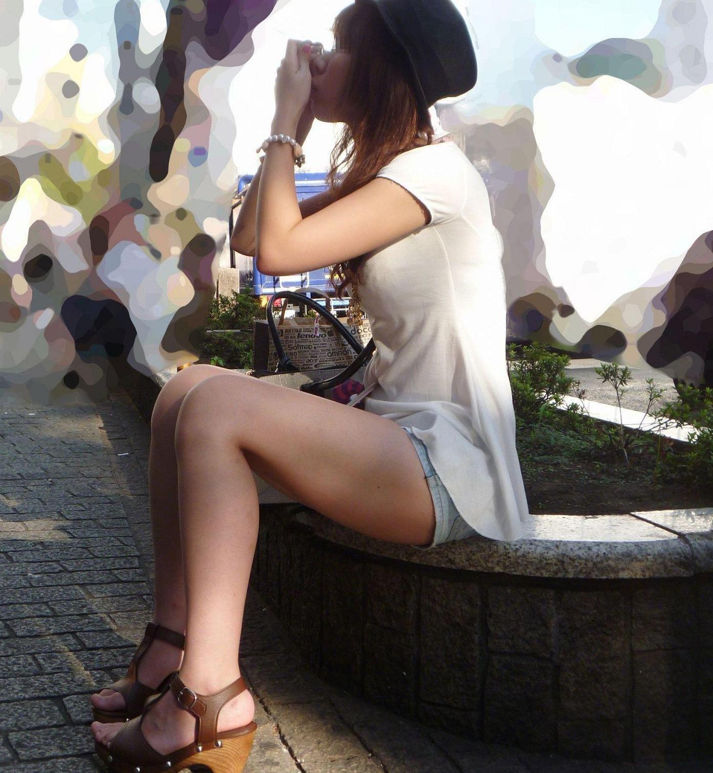 三次元 3次元 エロ画像 美脚 素人 街撮り べっぴん娘通信 012