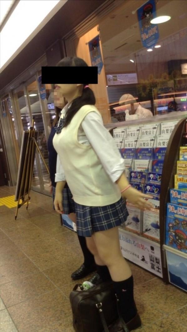 三次元 3次元 エロ画像 街撮り 素人 巨乳 おっぱい べっぴん娘通信 021