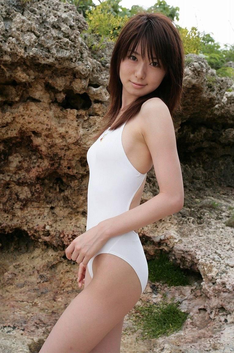 三次元 3次元 エロ画像 競泳水着 べっぴん娘通信 004