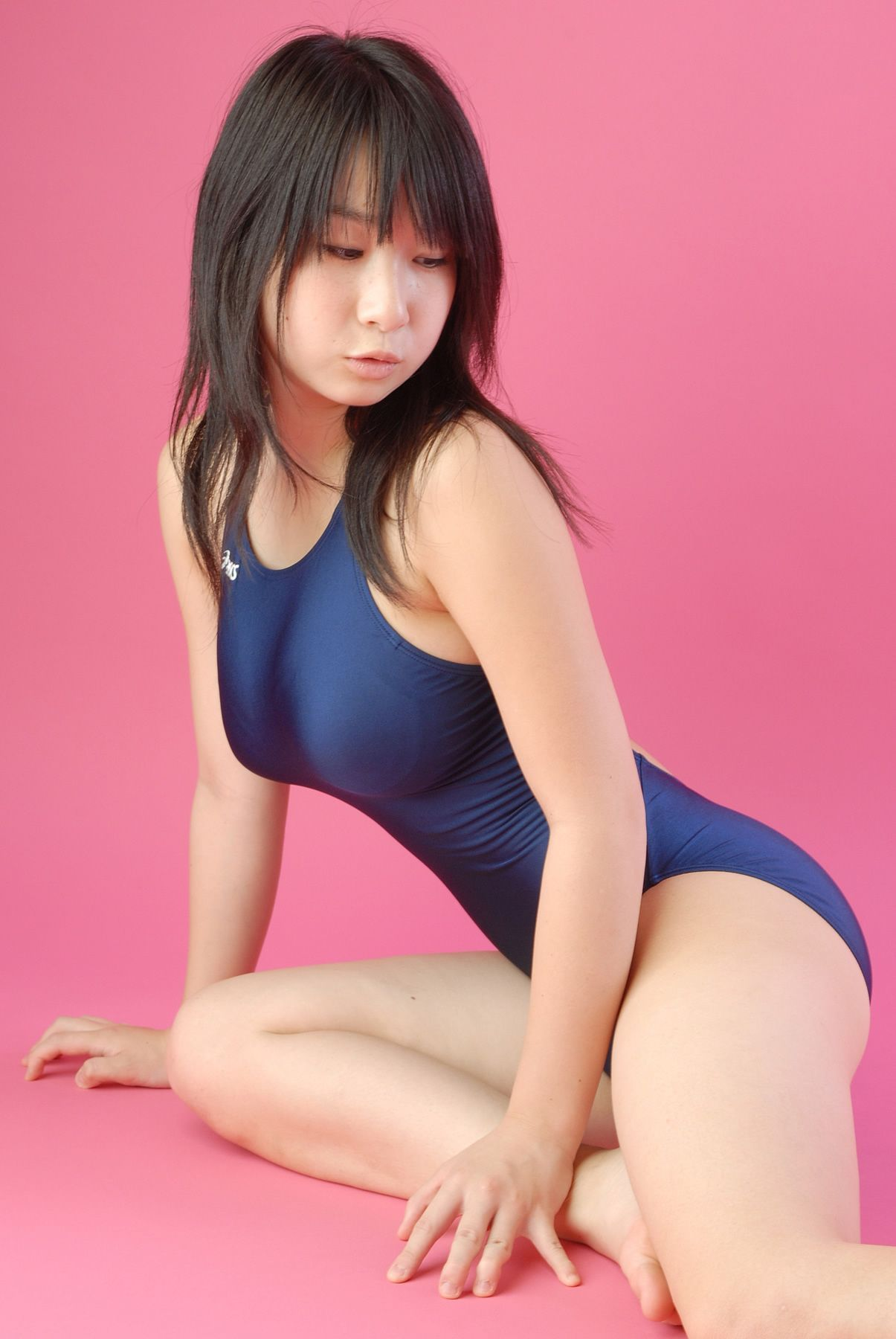 三次元 3次元 エロ画像 競泳水着 べっぴん娘通信 007