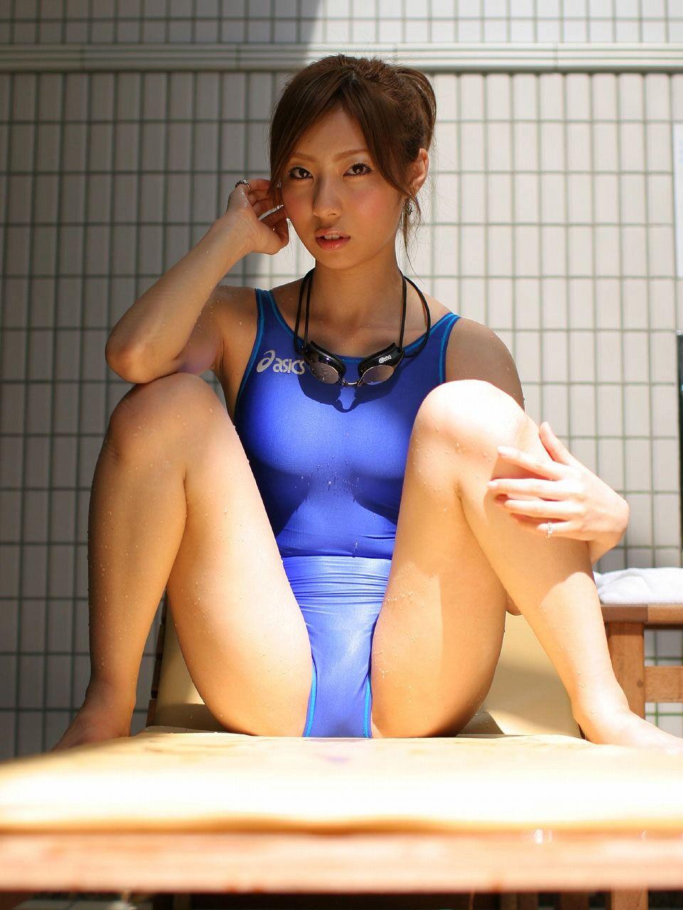 三次元 3次元 エロ画像 競泳水着 べっぴん娘通信 030