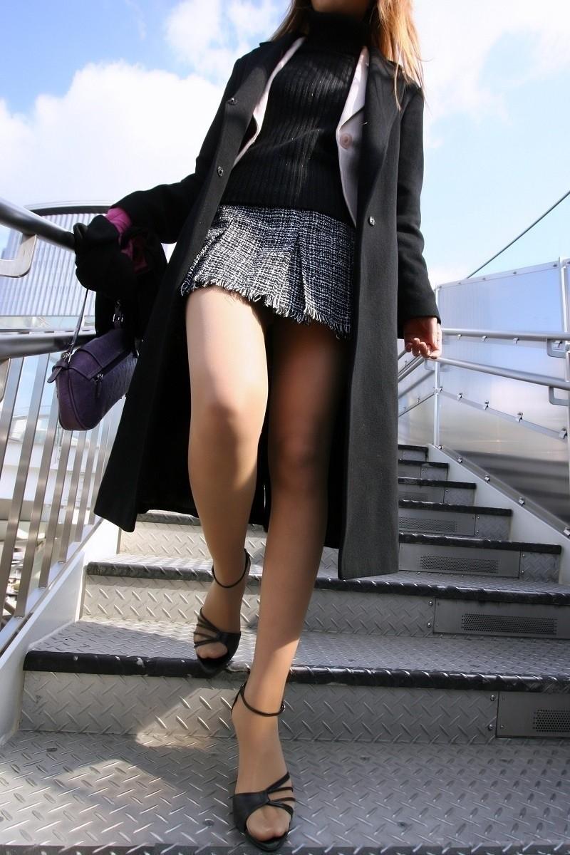 三次元 3次元 エロ画像 ハイヒール 美脚 街撮り 素人 べっぴん娘通信 012
