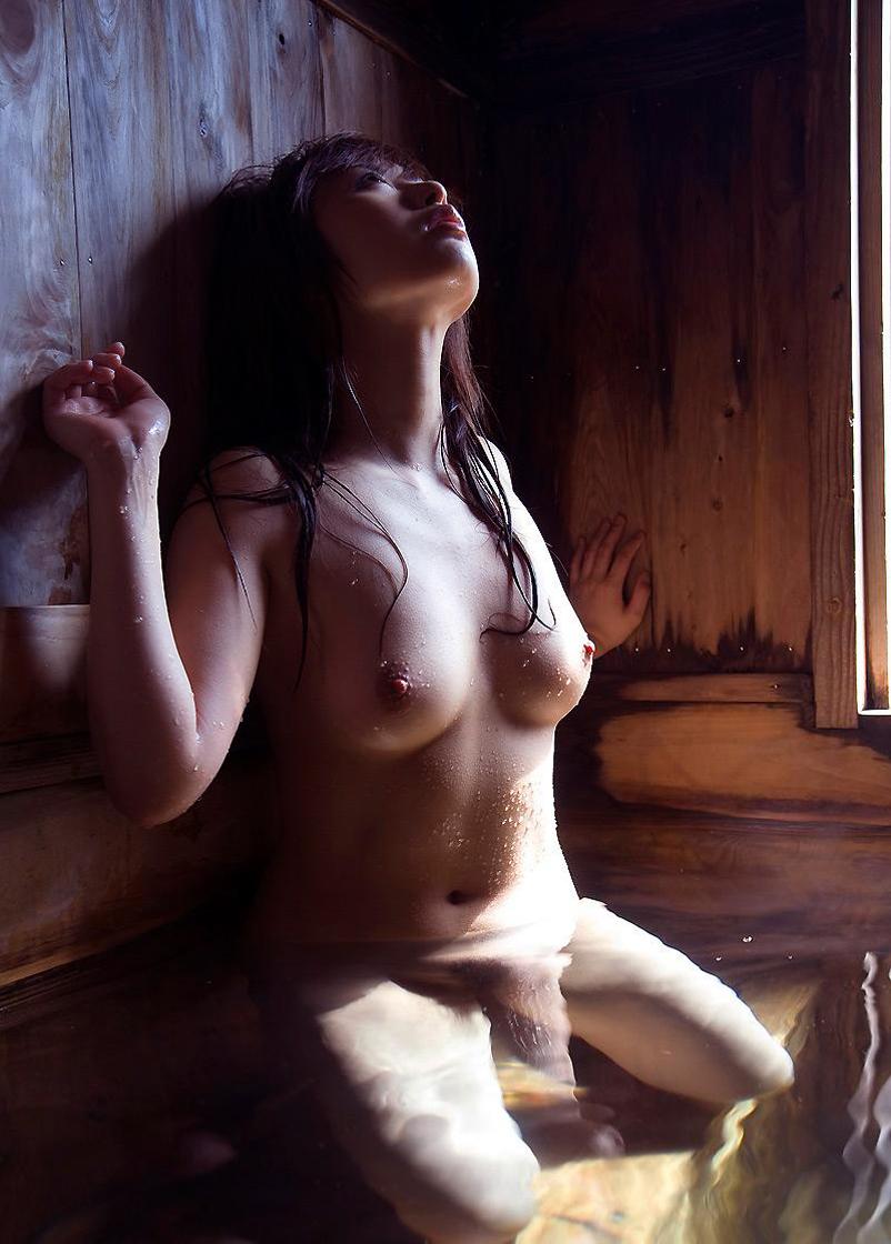 三次元 3次元 エロ画像 温泉 おっぱい ヌード 裸 べっぴん娘通信 006