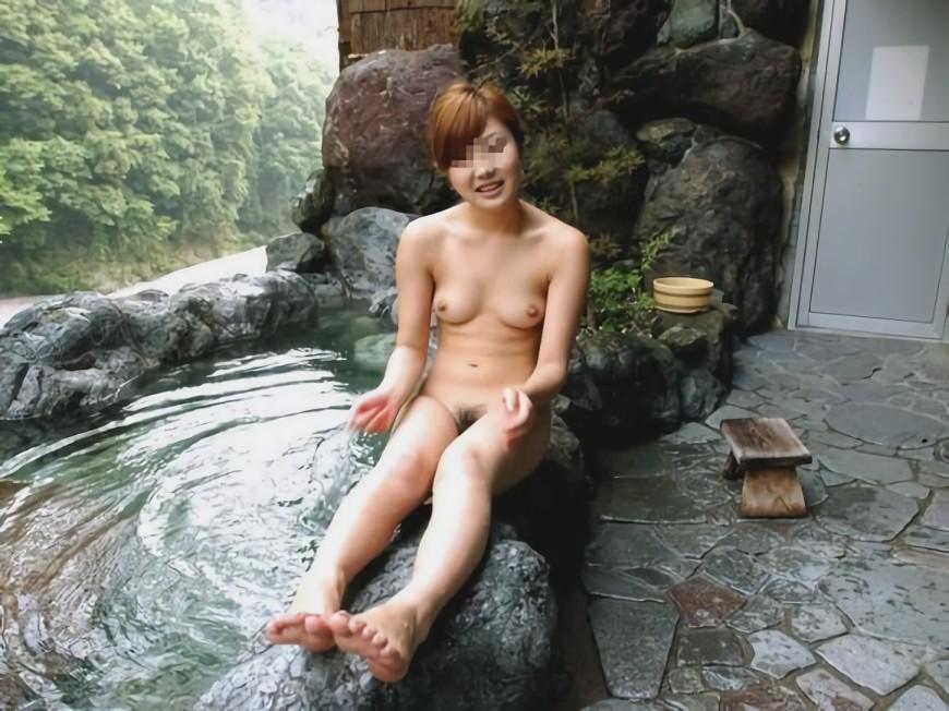 三次元 3次元 エロ画像 温泉 おっぱい ヌード 裸 べっぴん娘通信 017