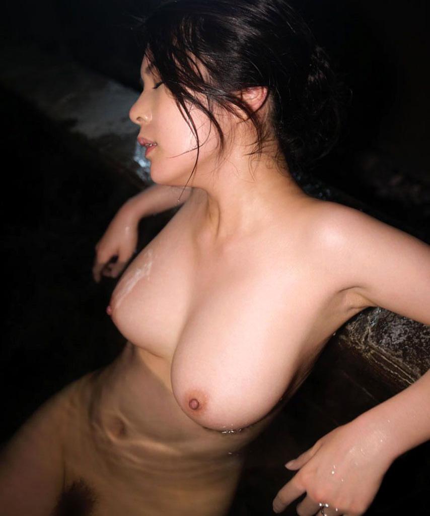 三次元 3次元 エロ画像 温泉 おっぱい ヌード 裸 べっぴん娘通信 020