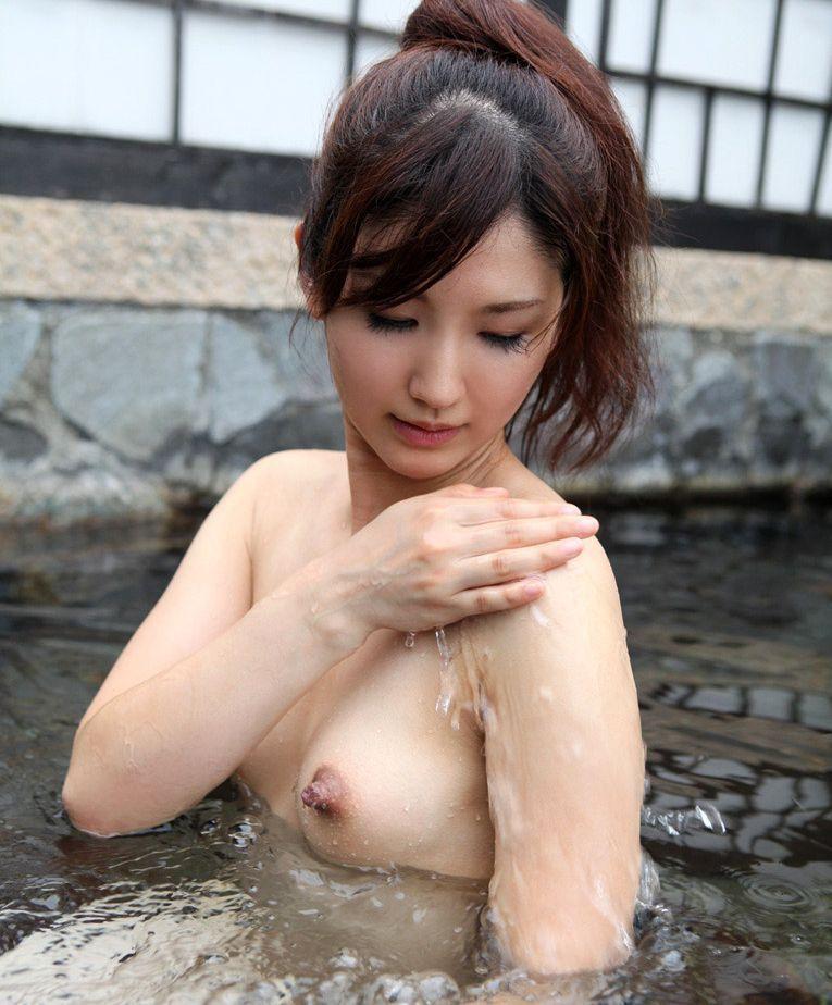 三次元 3次元 エロ画像 温泉 おっぱい ヌード 裸 べっぴん娘通信 039