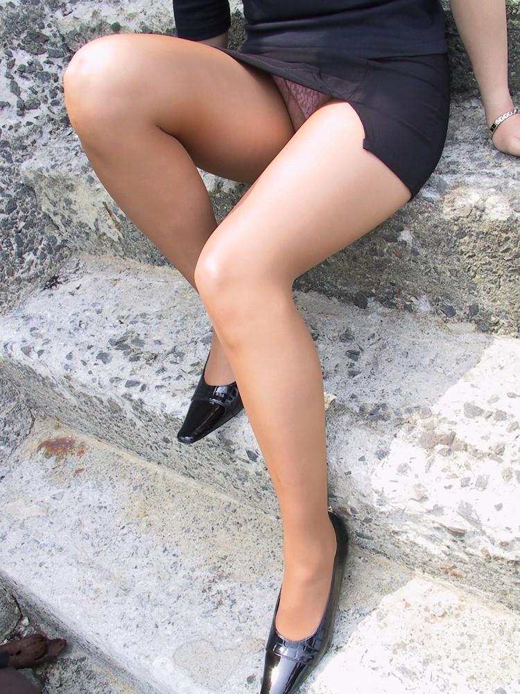 三次元 3次元 エロ画像 スリットスカート べっぴん娘通信 018
