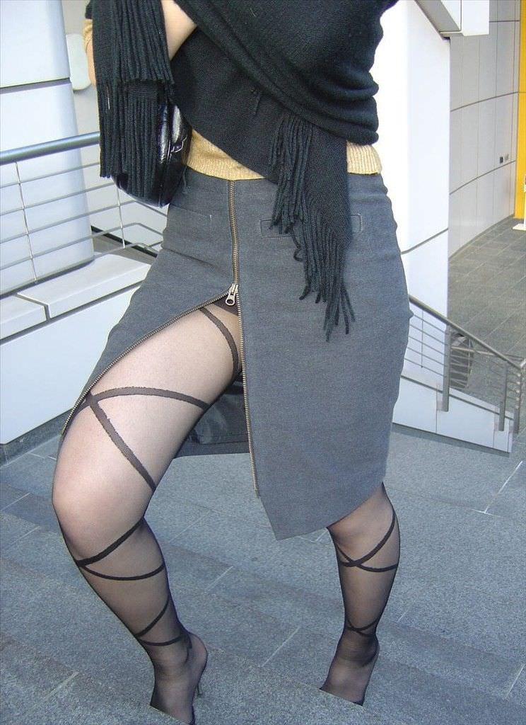 三次元 3次元 エロ画像 スリットスカート べっぴん娘通信 031