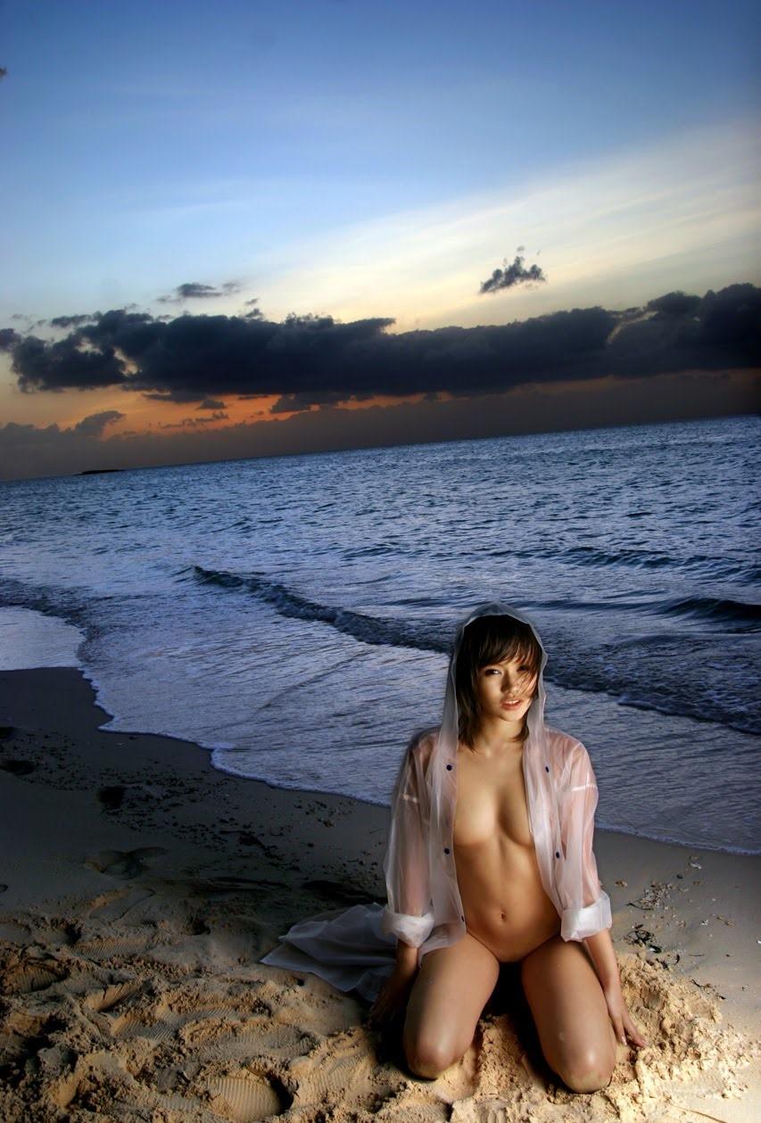 三次元 3次元 エロ画像 夕暮れ 夕陽 日没 ヌード べっぴん娘通信 021